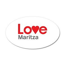 I Love Maritza Wall Decal