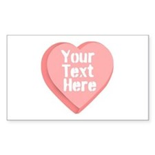 Candy Heart Decal