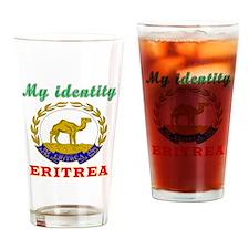 My Identity Eritrea Drinking Glass