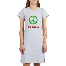 Women's Nightshirt PEACE ON EARTH