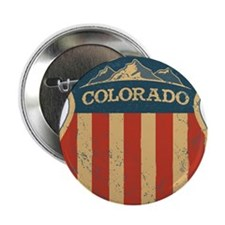 "Colorado Shield 2.25"" Button"