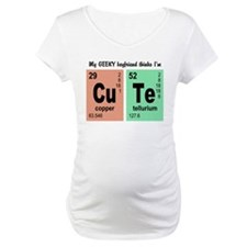 My Geeky Boyfriend Cute Elements Shirt