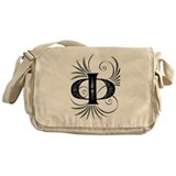 Cute Golden circle Messenger Bag
