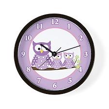 Cute Girly Wall Clock