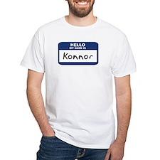 Hello: Konnor Shirt