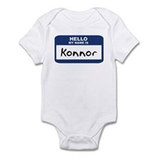 Hello: Konnor Infant Bodysuit