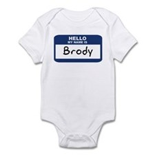 Hello: Brody Onesie