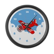 Unique Boys room decor Large Wall Clock