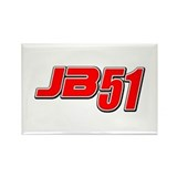JB51 Rectangle Magnet (10 pack)