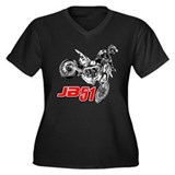 JB51bike Plus Size T-Shirt