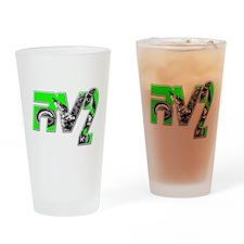 RV2bikeinsert Drinking Glass