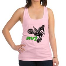 RV2bike2 Racerback Tank Top