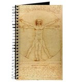 Leonardo Da Vinci's Vitruvian Man Journal