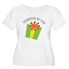 Celebrating My 25th Birthday T-Shirt
