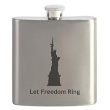 Miss Liberty Flask