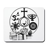 Interfaith Logo Mousepad