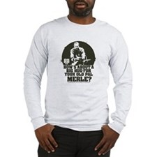 Walking Dead Merle Big Ole Hug Long Sleeve T-Shirt