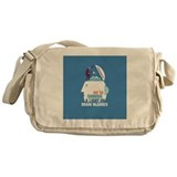 Cute Army Messenger Bag