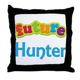 Future Hunter Throw Pillow