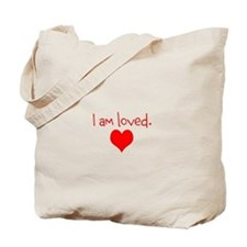 Sparkle Shine Love logo Tote Bag