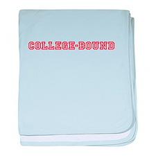 Shine College Bound logo baby blanket