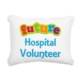 Future Hospital Volunteer Rectangular Canvas Pillo