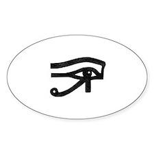 Eye of Ra Black Decal