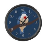 bleeding-heart-dove_cl.png Large Wall Clock