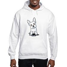 White French Bulldog Hoodie