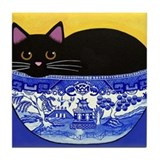 Unique Cat collectibles Tile Coaster