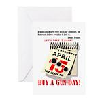 Buy a Gun Day Greeting Cards (Pk of 10)