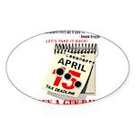 Buy a Gun Day Sticker (Oval)