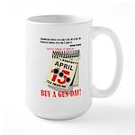 Buy a Gun Day Large Mug