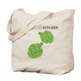 The Conscious Kitchen Artichoke Tote Bag