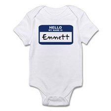 Hello: Emmett Infant Bodysuit