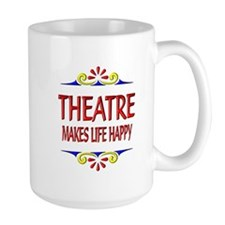 Theatre Happy Life Mug