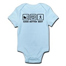 Ukulele Player Infant Bodysuit