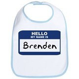 Hello: Brenden Bib