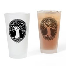 Celtic Tree Drinking Glass