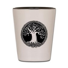 Celtic Tree Shot Glass