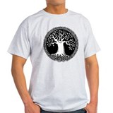Celtic Tree T-Shirt (gray, pink or blue)