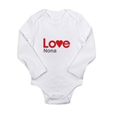 I Love Nona Body Suit