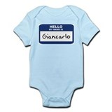 Hello: Giancarlo Onesie