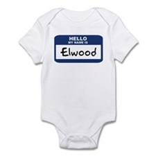 Hello: Elwood Infant Bodysuit