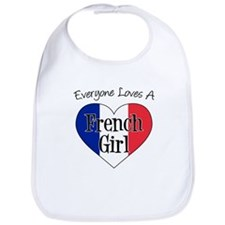 Everyone Loves French Girl Bib
