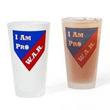 Pro WAR Drinking Glass