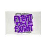Fight The Fight GIST Cancer Rectangle Magnet (100