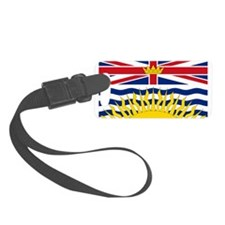 British Columbian Flag Luggage Tag