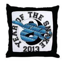 YTS13 BluePattern Throw Pillow