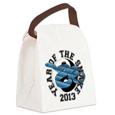 YTS13 BluePattern Canvas Lunch Bag